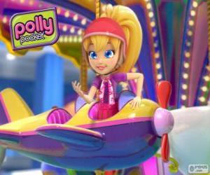 Puzle Polly Pocket em uma de suas aventuras