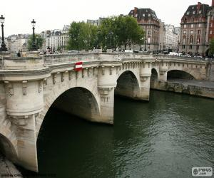 Puzle Pont Neuf, Paris