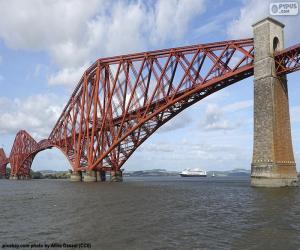 Puzle Ponte do Forth, Escócia