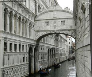 Puzle Ponte dos Suspiros, Itália
