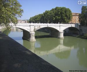 Puzle Ponte Giuseppe Mazzini, Roma