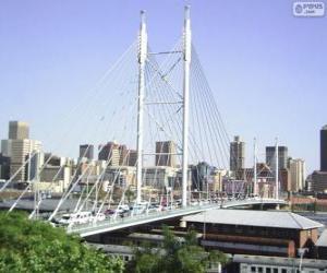 Puzle Ponte Nelson Mandela, Joanesburgo, África do Sul