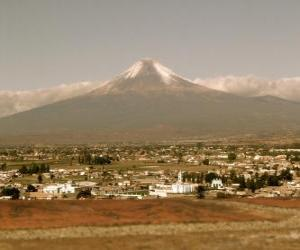 Puzle Popocatepetl México