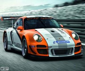 Puzle Porsche 911 GT3 R Hybrid