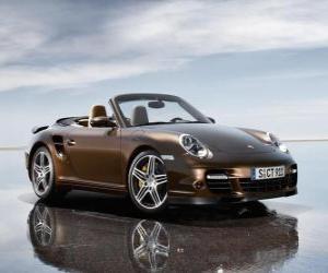 Puzle Porsche 911 Turbo Cabrio