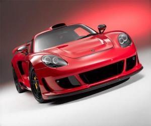 Puzle Porsche Carrera GT por Gemballa