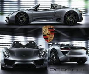 Puzle Porsche Spyder 918