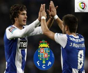 Puzle Porto, campeão da Primeira Liga, Primeira Divisão Nacional 2011-2012, liga de futebol de Portugal