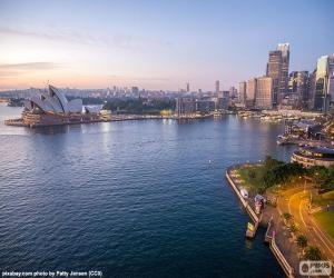 Puzle Porto de Sydney