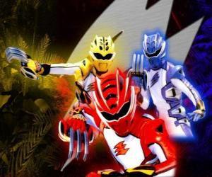 Puzle Power Ranger guerreiros de elite
