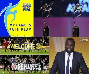 Puzle Prêmio FIFA Fair Play 2015