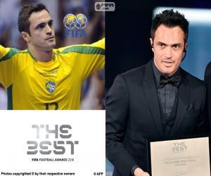 Puzle Prêmio honorário FIFA 2016
