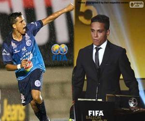 Puzle Prêmio Puskas da FIFA 2015