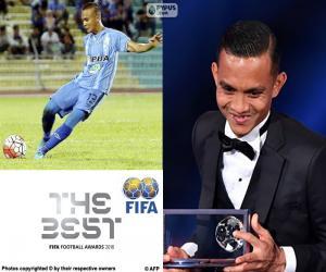 Puzle Prêmio Puskas da FIFA 2016