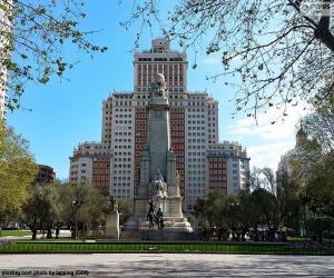 Puzle Praça de Espanha, Madrid
