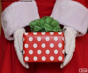 Puzle Presente de Papai Noel