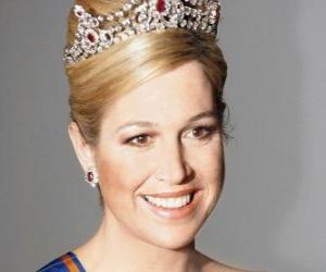 Puzle Princesa Máxima da Holanda