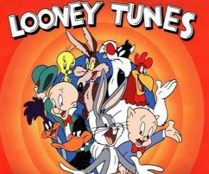 Puzle principais personagens do Looney Tunes