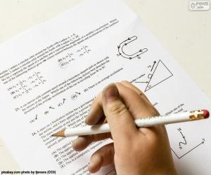 Puzle Problemas de física