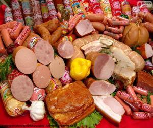 Puzle Produtos de carne