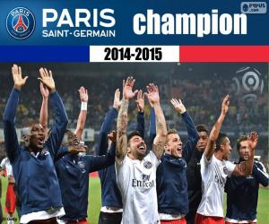 Puzle PSG, campeão 2014-2015