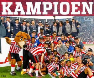 Puzle PSV Eindhoven campeão 2014-2015