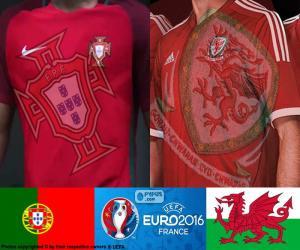 Puzle PT-Wales, meias-finais Euro 2016