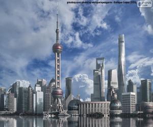 Puzle Pudong, Shanghai