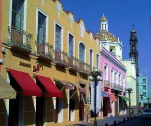 Puzle Puebla de Zaragoza, México
