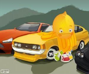 Puzle Pypus com alguns carros bonitos