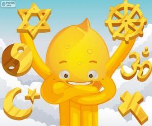 Puzle Pypus e as religiões