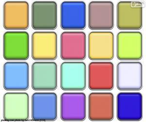 Puzle Quadrados de cores