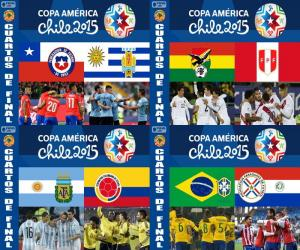 Puzle Quartas de final, Chile 2015
