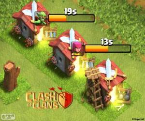 Puzle Quartel do Clash of Clans