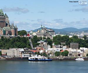 Puzle Quebec, Canadá