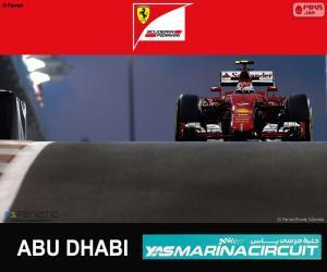 Puzle Räikkönen G.P Abu Dhabi 2015