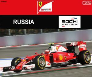 Puzle Räikkönen, G.P da Rússia 2016