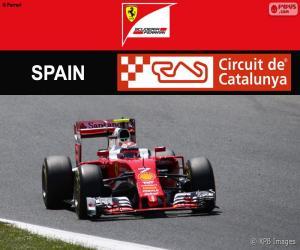 Puzle Räikkönen, G.P Espanha 2016