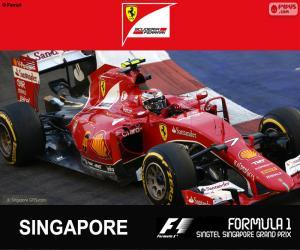 Puzle Räikkönen G.P Singapore 2015