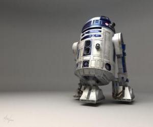 Puzle R2-D2, droide astromecânico e amigo de C-3PO
