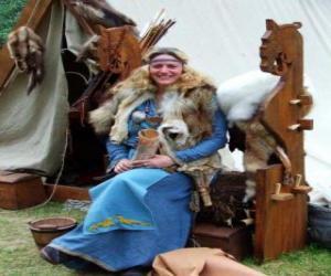 Puzle Rainha viking