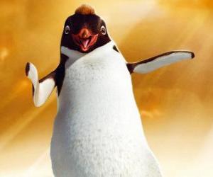 Puzle Ramon, o pinguim líder do clube Los Amigos
