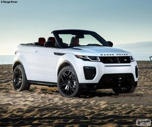 Puzle Range Rover Evoque Conversível