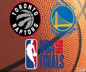 Puzle Raptors-Warriors, finais da NBA de 2019
