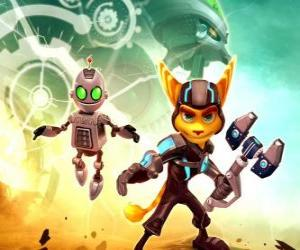 Puzle Ratchet e robot Clank