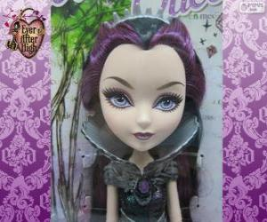 Puzle Raven Queen, líder de Rebels em Ever After High