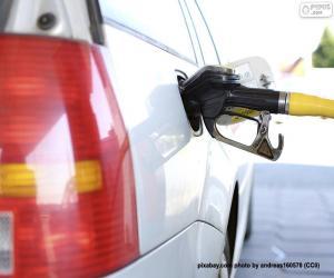 Puzle Reabastecendo carro a diesel