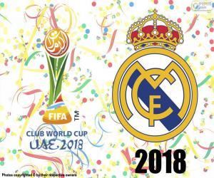 Puzle Real Madrid, campeão do mundo de 2018