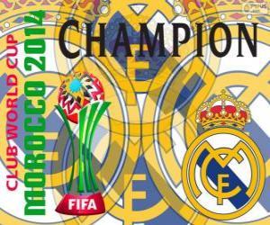 Puzle Real Madrid CF, Campeão da Copa do Mundo de Clubes FIFA 2014