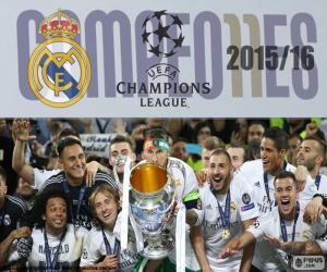 Puzle Real Madrid, Champions 2015-2016